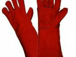 Перчатки сварщика спилковые