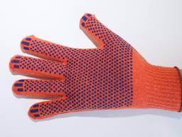 Перчатки трикотажные, рабочие, строительные, , х/б
