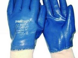 Перчатки трикотажные с двойным нитриловым покрытием
