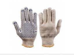 Перчатки трикотажные с пвх точкой 3д мастер