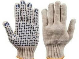 Перчатки трикотажные с пвх 80 тс