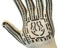 Перчатки трикотажные,уплотненные