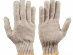 Перчатки трикотажные вязанные