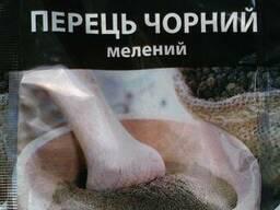 Перец черный молотый,15г. тм Таперс, от представителя