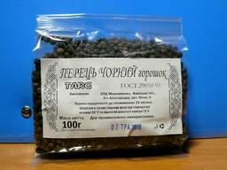 Перец чёрный горошек, молотый 100г