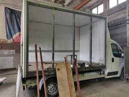 Переделаем Ваш фургон в фургон для перевозки хлеба