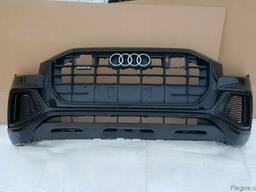 Передний бампер Audi ( Ауди ) Q8 2018-2019 разборка б\у