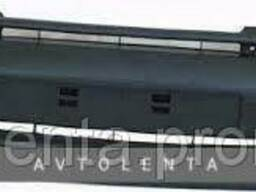 Передний бампер Renault Kangoo 97-03 черный с наполниетем...