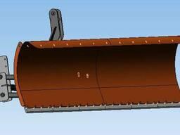 Передній поворотний відвал Т-150
