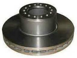 Передний тормозной диск Мерседес Атего (на колеса 17, 5)
