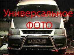 Передняя дуга с усами WT003 (нерж. ) Renault Master. ..