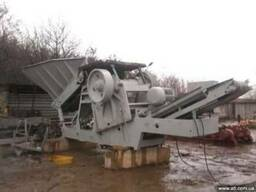 Передвижная дробильно-сортировочная установка ПДСУ-27