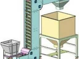 Передвижной крутонаклонный конвейер типа нория