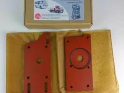 Переходная плита переоборудование Д240 МТЗ ЗИЛ под компрессо
