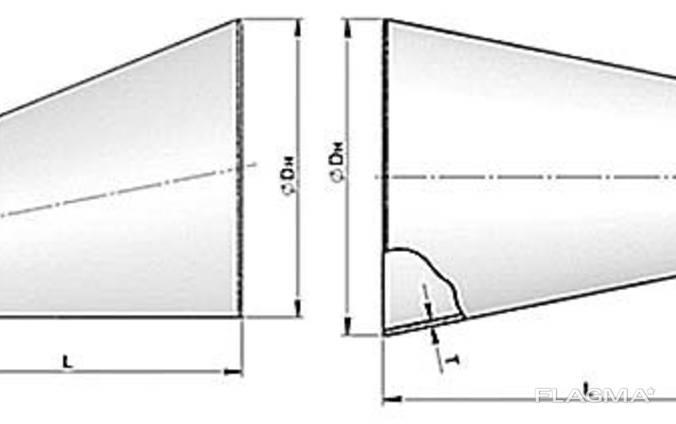 Переход эксцентрический 1420х920х14 ОСТ 3410.753-97