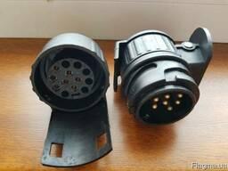 Переходник адаптер с 13 на 7 контактов для прицепа/авто