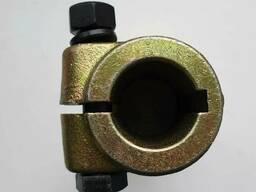 Переходник карданного вала (втулка 35мм, вал 6 шлиц. ) цинковое покрытие