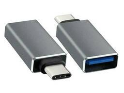 Переходник USB 3.0 AF/TYPE-C. OEM