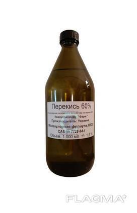 Перекись водорода фармакопейная 60% 1литр.