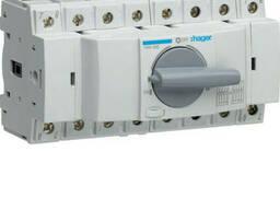 Переключатель модульный трехпозиционный I-0-II до 35мм2. ..