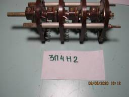 Перемикач поворотний пакетний багатополюсний ПШ-3П4Н2