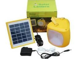 Переносний ліхтар Solar Lantern GC-501B на сонячній батареї