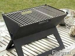 Переносной мангал гриль-барбекю Portable Foldable BBQ