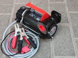 Переносной насос для ДТ 12, 24Вольт 50л/мин Италия Piusi