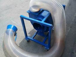 Переносной радиальный вентилятор ПРВ-250 всасывающий