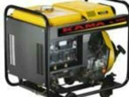 Переносной сварочный генератор, агрегат, электростанция