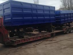 Переобладнання 1ПТС-9, 3ПТС-12 на зерновози 25-35 м/куб.
