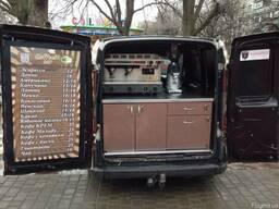 Переоборудование автомобиля в мобильную кофейню на колесах