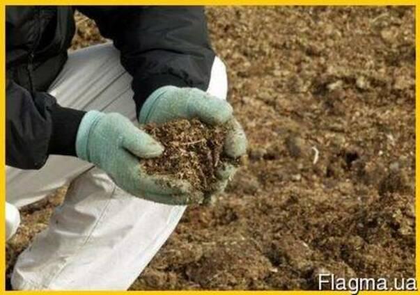Удобрение эко - перепелиный помет.