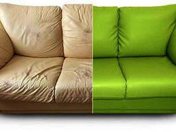 Перетяжка мягкой мебели, реставрация мягкой мебели.