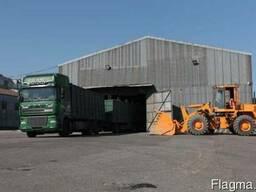 Перевалка и накопление зерновых грузов