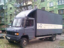 Перевезем мебель Мерседес Rex 509, мебельный фургон.3 тонны.