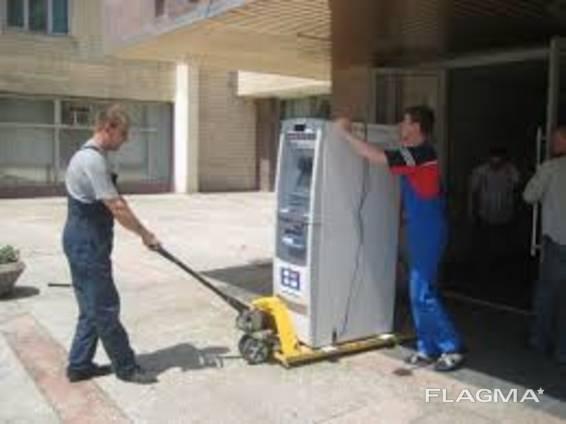 Перевозка банкоматов, сейфов, пианино, терминалов и других тяжелых грузов