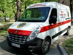 Перевозка больных по Украине