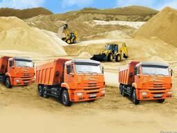 Перевозка бута, щебня, песка по Крыму!