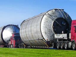 Перевозка емкостей цистерн бочек резервуаров вагонов котлов