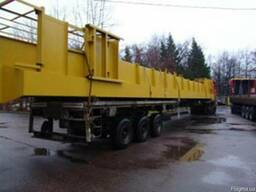 Перевозка длинномерных грузов тралами по Украине и Европе