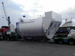 Перевозка емкостей цистерн резервуаров бочки оборудования ко