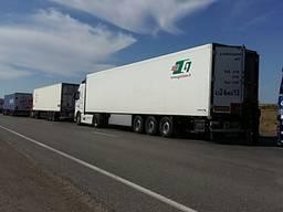 Перевозка груза автотранспортом.
