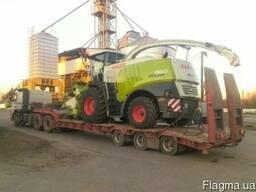 Перевозка комбайна трактора сеялки сельхозтехники