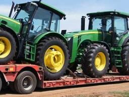 Перевозка комбайна трактора сеялки опрыскивателя сельхозтехн