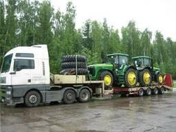 Перевозка комбайнов тракторов сеялок сельхозтехники