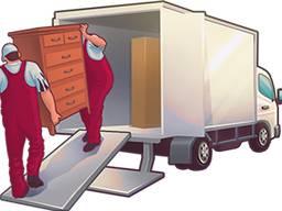 Перевозка мебели, бытовой техники и пр. Услуги грузчиков