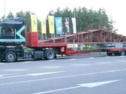 Перевозка мостовых кранов, балок, металлоконструкции, Киев