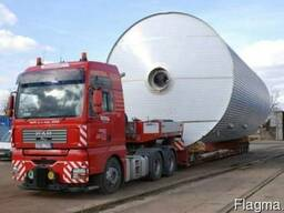 Перевозка неагабарита, перевозка спецтехники тралами