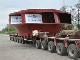 Перевозка негабарита 4-осным тралом, 60 тонн - фото 1